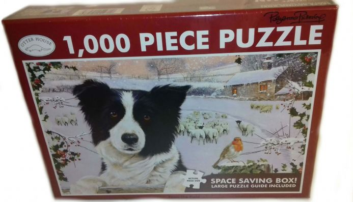 Border Collie Landscape 1000 Piece Jigsaw